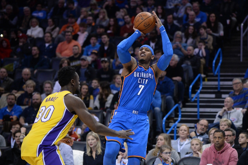 Thunder Hosts Lakers, Roberson Upgraded To Questionable