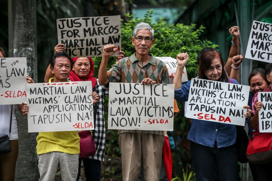 Justice for Martial Law victims