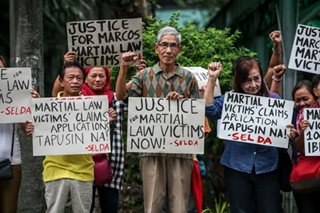 Martial law victims cautioned vs fake claims