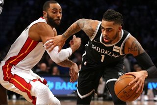 NBA: Nets rally to top Heat, 101-95