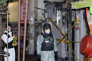 Five killed in arson attack on Seoul motel