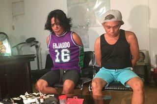 2 arestado sa droga, 'shabu' itinago sa likod ng altar