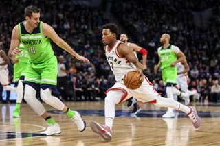 Lowry scores 40, but Raptors fall to Timberwolves