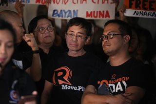 No politics in libel raps vs Rappler - complainant's camp