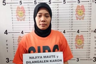 Wife of Maute group member arrested