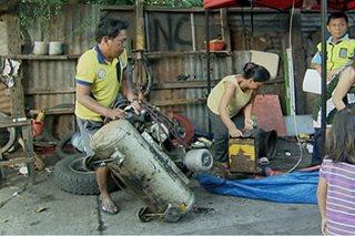 Mga ilegal na puwesto sa may Malacañang complex, binaklas ng MMDA