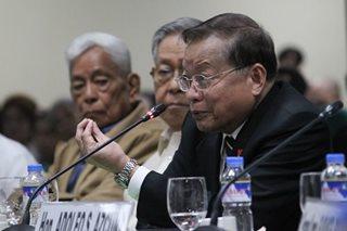 Senators welcome Puno-led constitutional commission