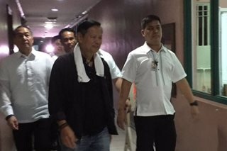 Joel Reyes surrenders to Sandiganbayan