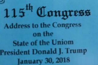 Oops: Guests invited to Trump's State of the 'Uniom'