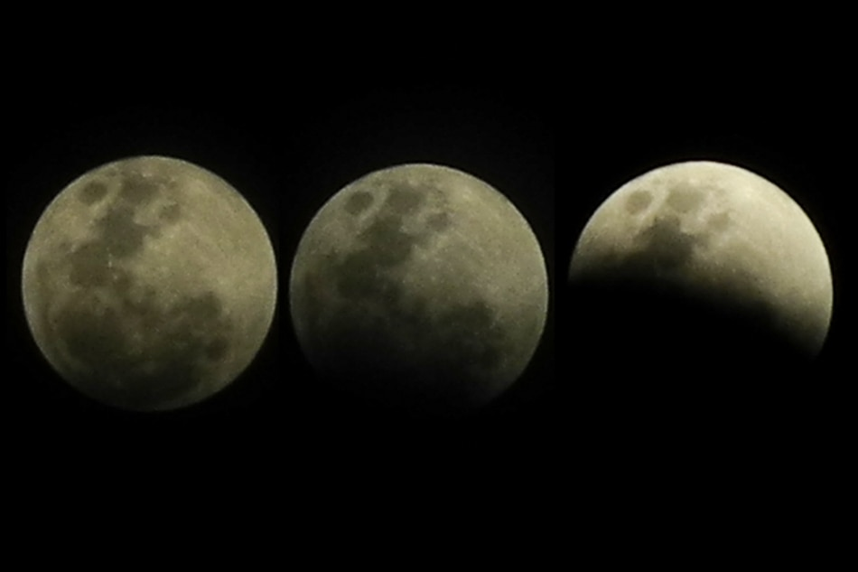 Super lunar eclipse