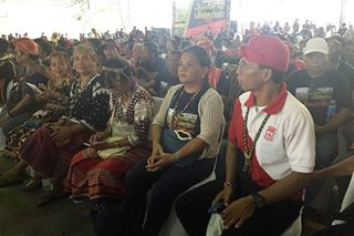 Duterte vows P100-M for Lumad ancestral domain dev't