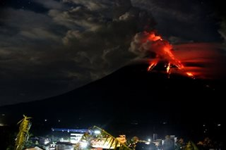 Phivolcs: Mayon calming down but alert remains