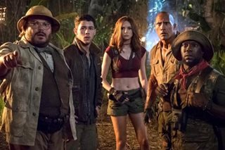 'Jumanji' claws its way back to top of North American box office