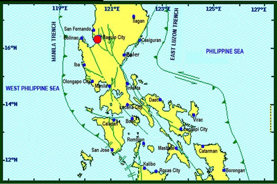 Magnitude Quake Jolts Baguio ABSCBN News - Baguio map
