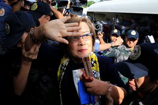 Detained De Lima files bills for prison reform