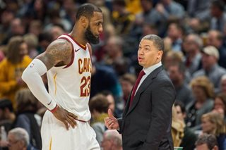 LeBron on Coach Lue: 'We worry about his health'
