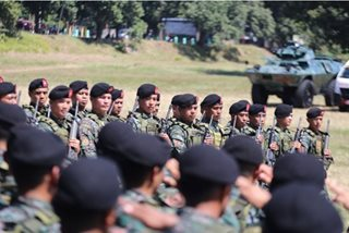 PNP-SAF forms 5 new battalions, focuses on urban warfare training