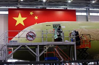 China's COMAC to deliver first plane in 2021