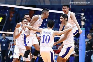 Ateneo continues to frustrate NU in UAAP men's volleyball