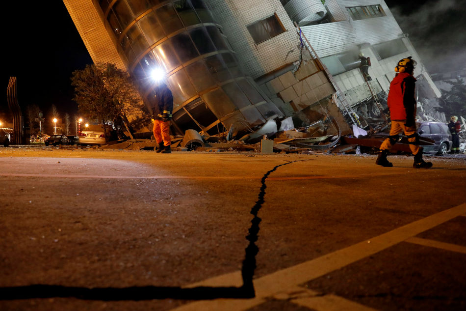 Filipino caregiver missing after quake in Taiwan, says official
