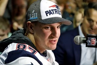 Patriots star Gronkowski burgled on Super Bowl weekend: police