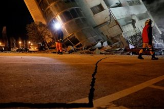 Aftershocks rattle Taiwan as quake toll rises to 10, 58 missing