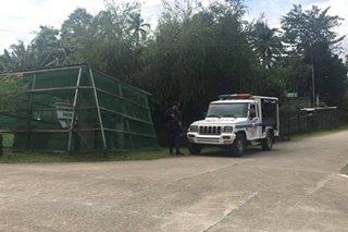 Istasyon ng pulis sa Zamboanga del Norte, nakatanggap ng banta mula sa NPA