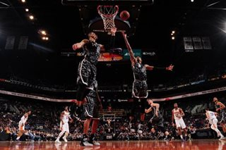 Spurs spank Suns in epic blowout
