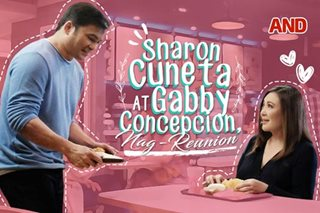 Sharon Cuneta at Gabby Concepcion, nag-reunion