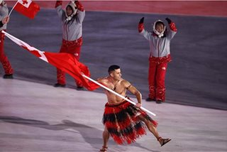 Winter Olympics: Topless Tongan's secret weapon vs freezing cold? Coconut oil