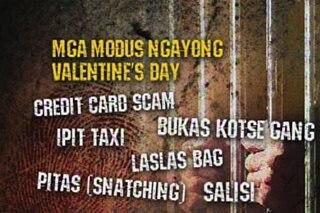 PNP, nagbabala laban sa mga modus sa Valentine's Day