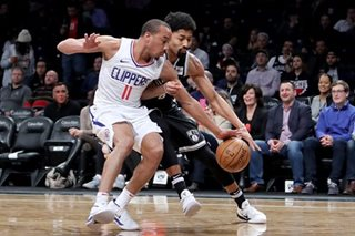 Clippers hand Nets sixth consecutive loss