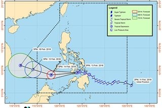 Basyang slows down, to make landfall over Cebu or Negros