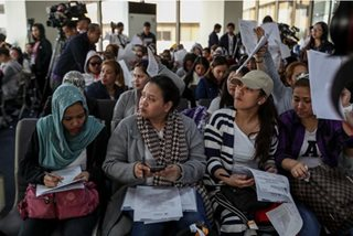 Second batch of OFWs from Kuwait now in PH