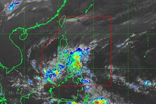 Rainy Valentine's Day as 'Basyang' lingers
