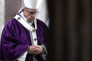 Opening Lent, pope urges people to slow down, rediscover power of silence