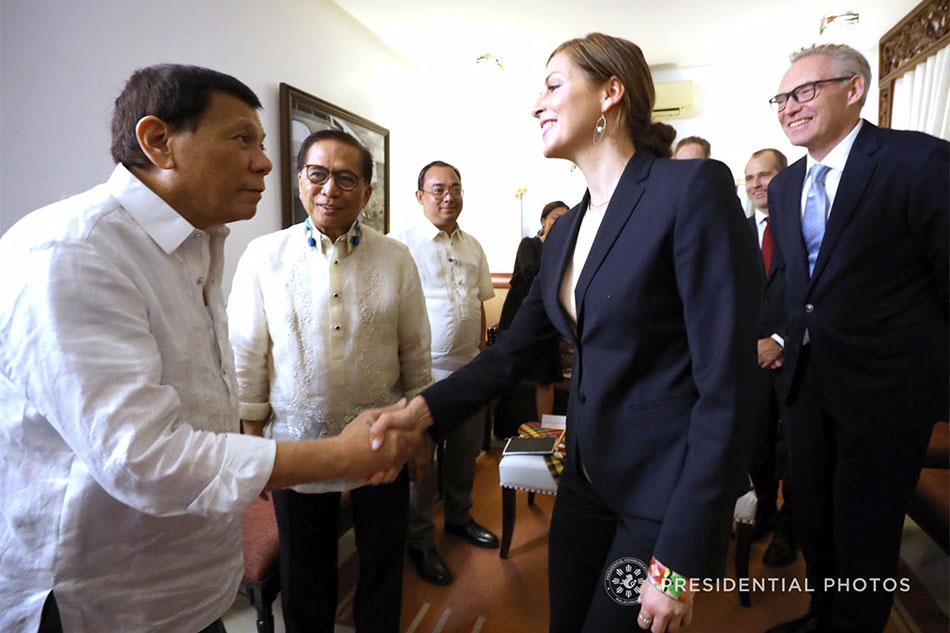 Duterte meets Norway's special envoy to communist peace talks 1