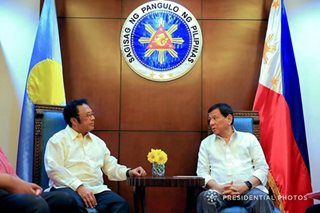 Duterte meets Palau leader Remengesau