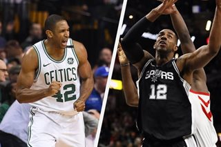 Report: Spurs' Aldridge, Celtics' Horford last picks in All-Star draft