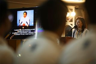 Robredo says 'signs' of dictatorship 'happening again'