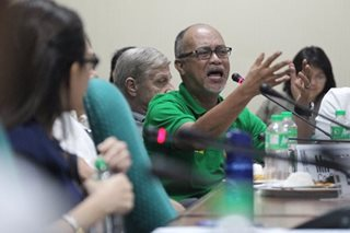 A hearing on MRT, jeepney woes