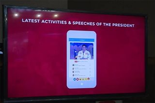 'DU30 Daily': PCOO launches Duterte mobile app