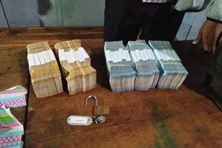 Mga kawatan, bigong tangayin ang P2 milyon sa pag-atake sa van ng bangko