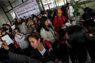 'Kafala' system for Middle East OFWs must stop: official