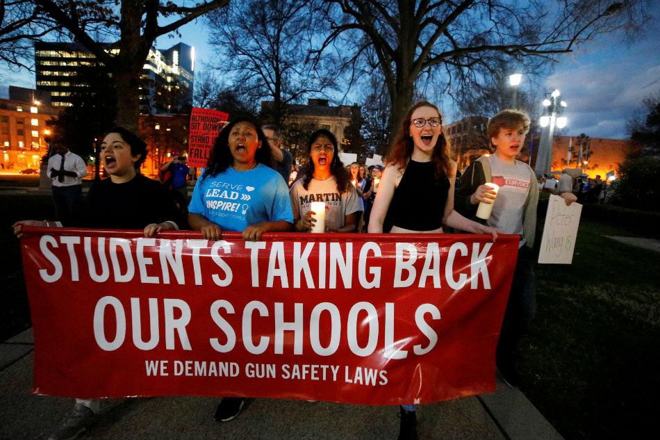 A year after US school massacre, gun control remains elusive 1