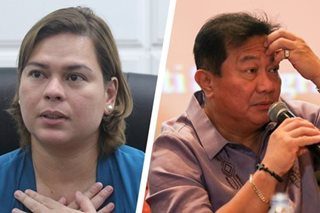 Alvarez, Sara Duterte shake hands at dinner party