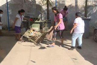 DOLE, nagbigay ayuda sa mga magulang ng NCCC mall workers