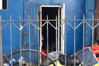 Sunog sumiklab sa MPD Station 5
