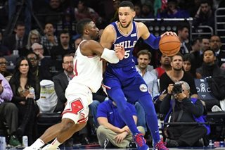 NBA: Simmons scores 32 to pace 76ers past Bulls