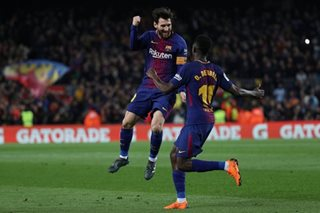 LA LIGA: Suarez hits hat-trick as Barca trounce Girona